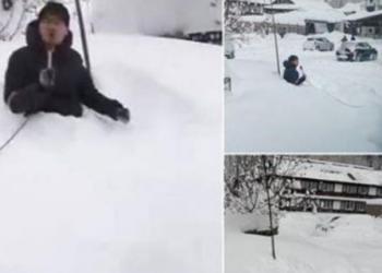 """""""Bora deri në fyt"""", kapet mat gazetari duke ekzagjëruar lajmin"""