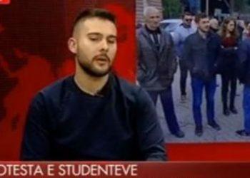 """""""Të përfundojë protesta në atë farë feje!"""", studenti tregon kush i përçau: Na duhet një plan B, s'mund të rrimë më te kryeministria!"""