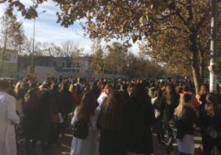 Përshkallëzohet protesta, studentët marshojnë drejt MASR dhe përcaktojnë afatet: Ja deri kur keni kohë