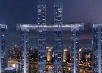 Përfundon ndërtimi i kryeveprës kineze, ka 8 rrokaqiej 250 metra të lartë (VIDEO)