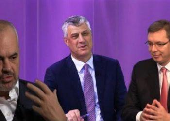 Media evropiane: Thaçi, Rama dhe Vuçiç po punojnë për të ndryshuar kufirin