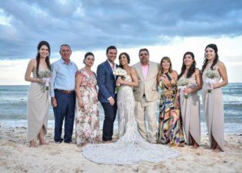Dasma shqiptare në Karaibe, nusja braziliane përlotet nga surpriza e prindërve mirditorë