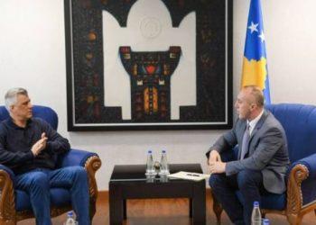 Pak para udhëtimit në SHBA, Haradinaj takim urgjent me Thaçin