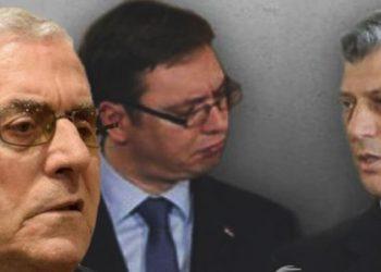 Paralajmërimi i diplomatit: Ringjallja e planit të Millosheviçit po bëhet nga Thaçi e Vuçiçi