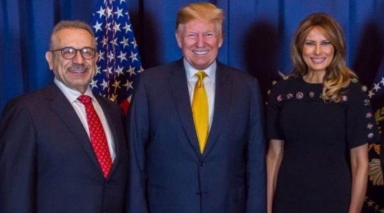 Biznesmeni i njohur nga Dibra e Madhe Selim Rusi takon Presidentin Trump dhe Zonjën e Parë