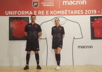 Prezantohen uniformat e reja të Kombëtares (FOTO)