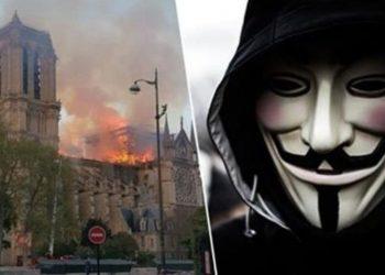 Grupi Anonymous ka një mesazh për miliarderët që i derdhën 'paratë lumë' për katedralen Notre Dame