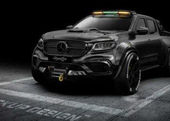 Mercedes prezanton përbindëshin me 6 goma (FOTO)