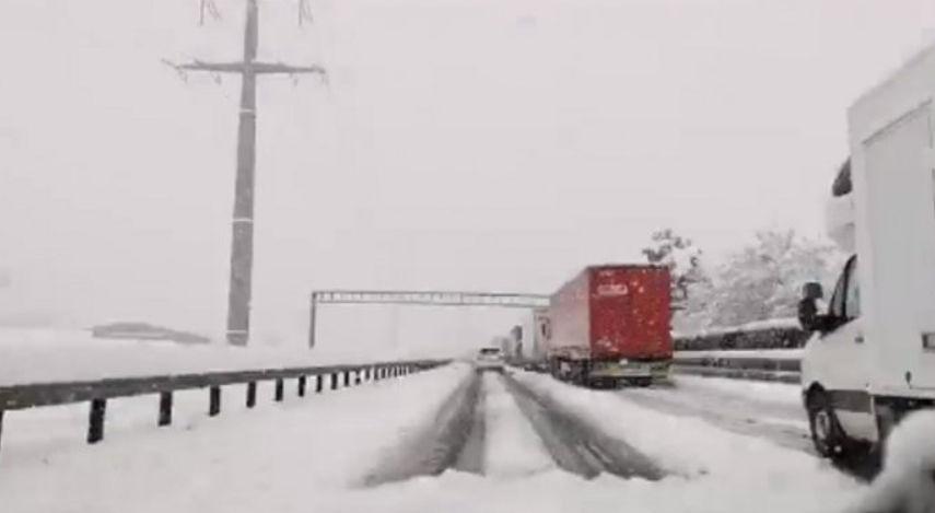 Çfarë po ndodh në Zvicër? Borë e madhe në pranverë (VIDEO)