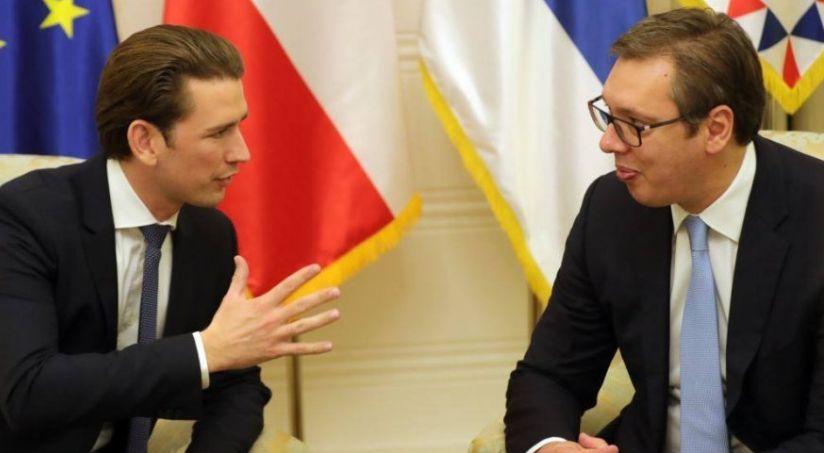 Kancelari i Austrisë i vendos 'vijën e kuqe' Serbisë: Nuk ka BE pa normalizuar marrëdhëniet me Kosovën
