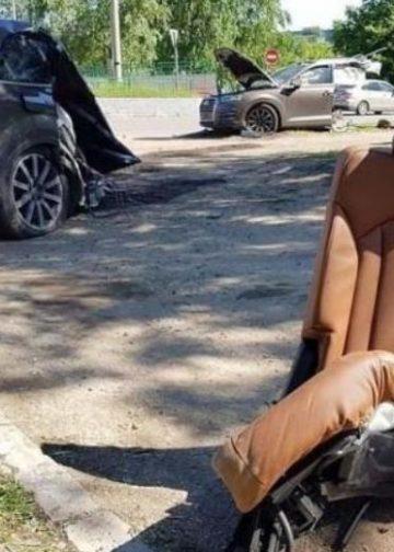 Audi Q7 ndahet në mes nga aksidenti, shpëton mrekullisht shoferi (FOTO)