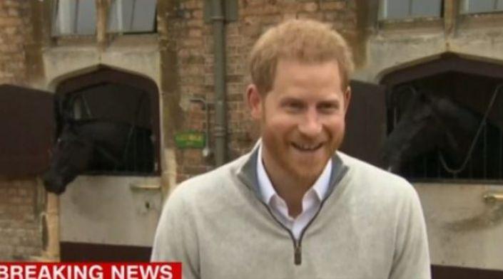 """Zyrtare, baba për herë të parë, flet Princ Harry: """"Jam në qiellin e shtatë, dhe shumë krenar për gruan time"""""""