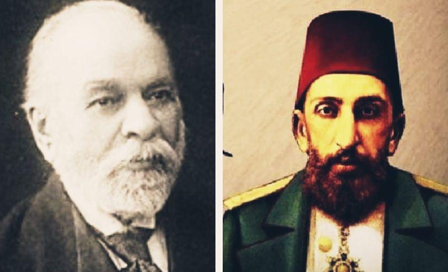 Ismail Qemali dhe Abdul Hamidi II e falnin së bashku namazin e Teravisë