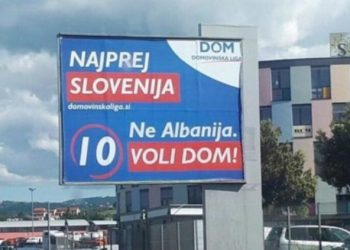Zgjedhjet në BE, partia sllovene lobon kundër shqiptarëve: Këtu është Slloveni e jo Shqipëri