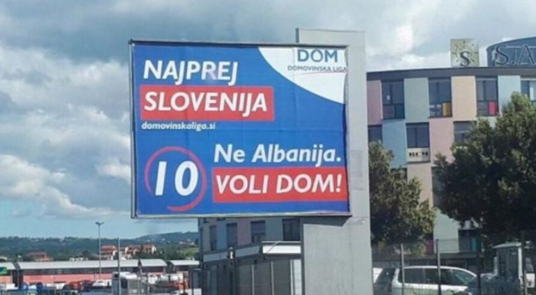 Zgjedhjet në BE  partia sllovene lobon kundër shqiptarëve  Këtu është Slloveni e jo Shqipëri