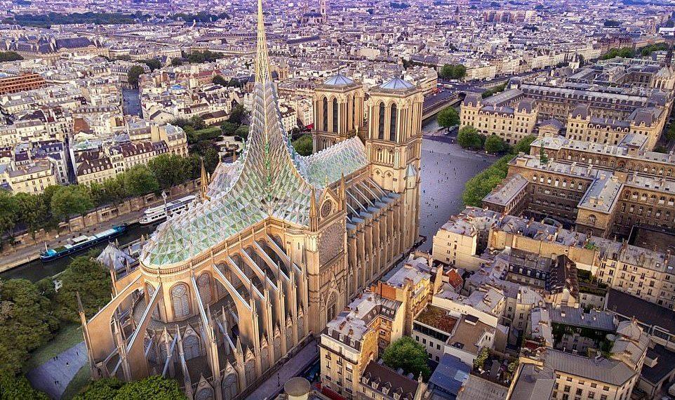 Arkitekti belg krijon një dizajn të mahnitshëm për Notre Dame (FOTO)
