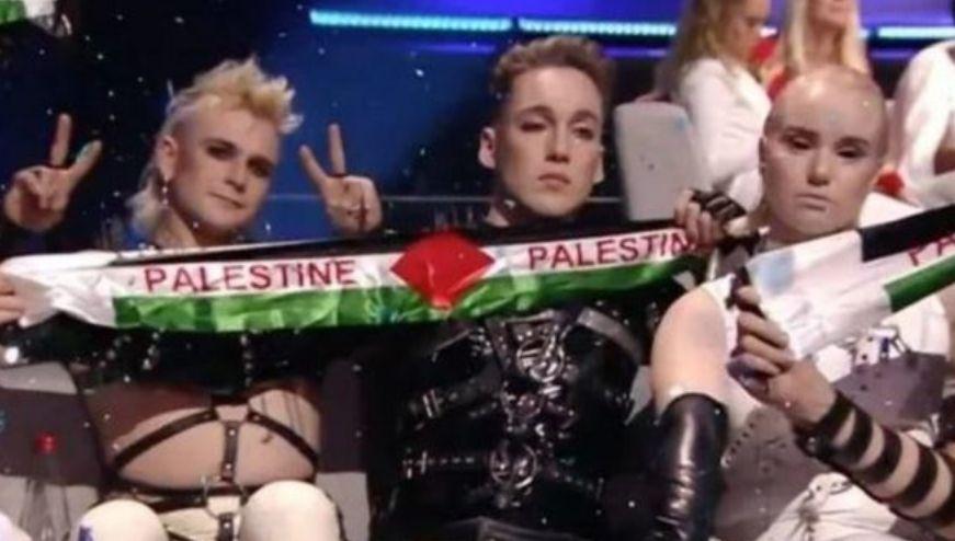 Eurovision: Islanda shfaq flamurin e Palestinës në Izrael, shkakton reagime në publik