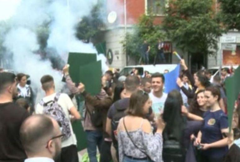 Përfundon protesta studentore  pritet të vijojë në ditët në vazhdim