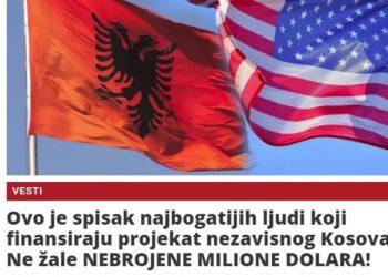 Media serbe: Këta janë shqiptarët që po shkrijnë pasurinë për Pavarësinë e Kosovës (FOTO)