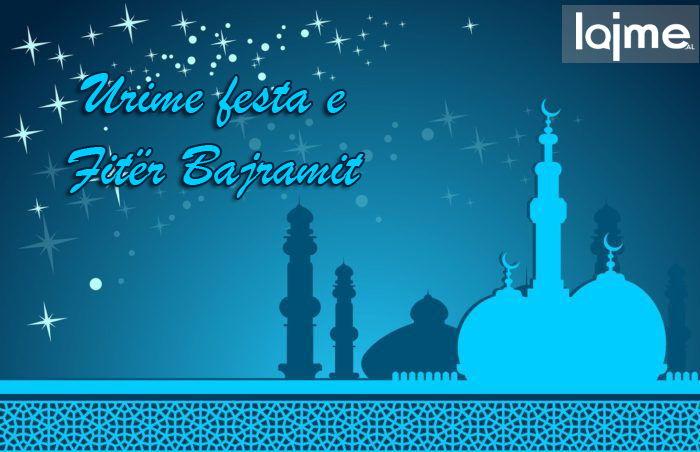 Urime dhe për shumë vite festa e Fitër Bajramit