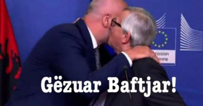 """Gafa e Junker bëhet meme: """"Kur të duash ti o buçko, ta prish daja ty"""" (FOTO)"""
