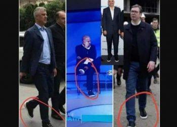 Çmimi i çmendur! Rama, Thaçi dhe Vuçiç veshin të njëjtin model këpucësh (FOTO)