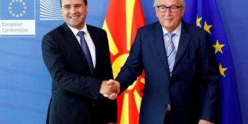 'Diplomatët: Maqedonia drejt hapjes së negociatave me BE, Shqipëria jo'