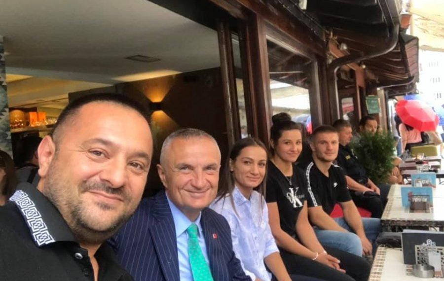 Driton Kuka pas takimit me presidentin e Shqipërisë: Sot Sarajeva merrte frymë shqip (FOTO)