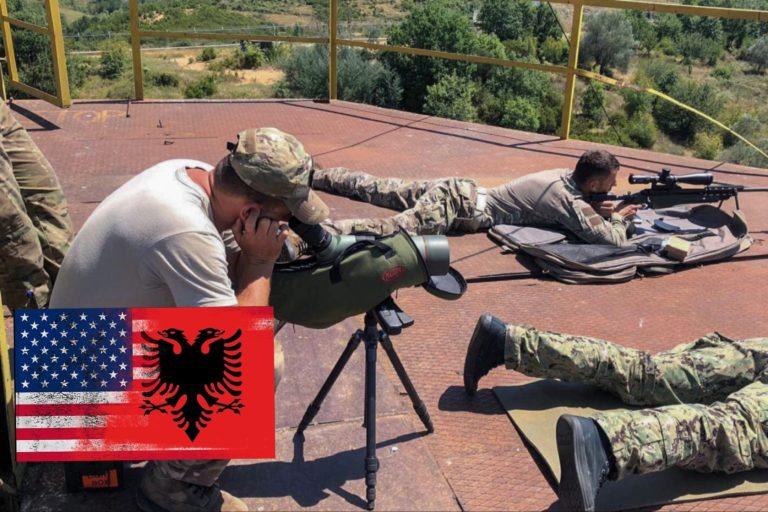 Marinsat amerikanë, stërvitje me Forcat Speciale Shqiptare