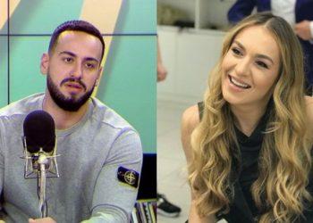 """""""Ore je beqar ti?"""", moderatorja e 'Top Channel' vë në siklet në mes të emisionit këngëtarin e njohur: Thashë ta kryejmë shpejt e shpejt (VIDEO)"""