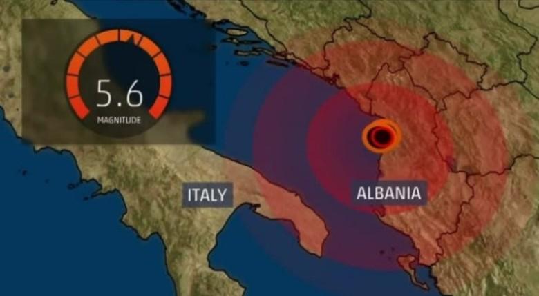 Sa rezikohet Shqipëria? Instituti gjerman flet për tërmetin e madh në vendin tonë