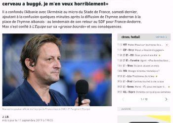 Gaboi himnin e Shqipërisë, fajtori francez: S'kam fjetur dy ditë