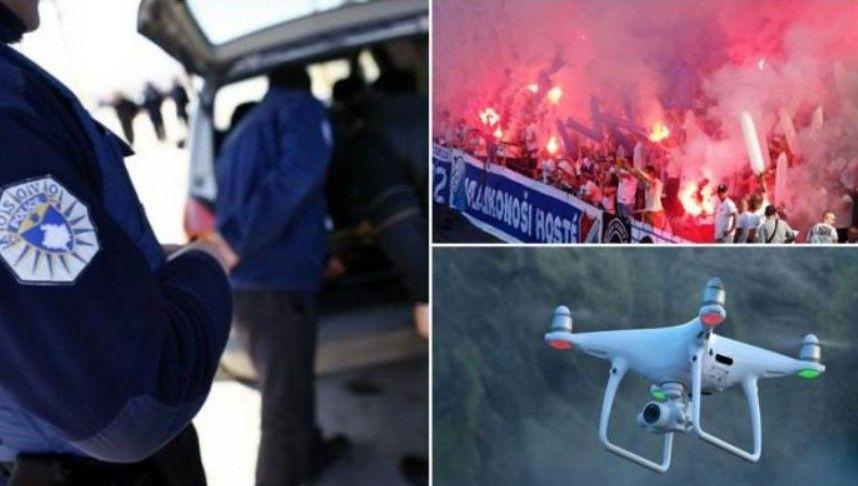 """Në pranga 8 shtetas çekë, po planifikonin të ngjitnin flamurin """"Kosova është Serbi"""" në stadiumin """"Fadil Vokrri"""" (FOTO)"""