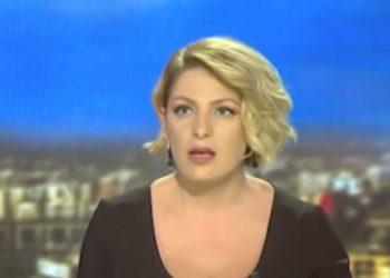 """Tërmeti tmerron """"Live"""" prezantuesen në studion e lajmeve (VIDEO)"""