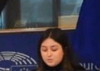 Vetëm 16-vjeç, kosovarja mban fjalim në Parlamentin Europian (VIDEO)
