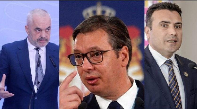 Rama takim me Vuçiç dhe Zaev në Serbi për 'Mini Shengenin ballkanik', Kosova ngelet jashtë