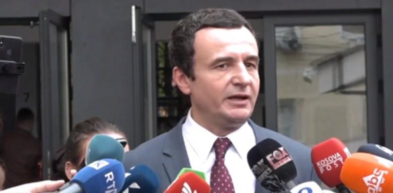 Kurti: Nesër ftoj LDK-në për të filluar bisedimet për qeverinë e re me mua Kryeministër