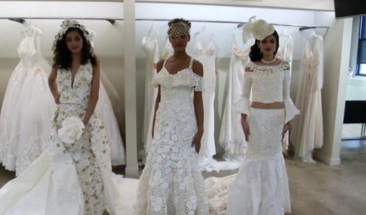 Krijoi fustan me letër higjenike, shqiptarja fiton shumën marramendëse në mes të Amerikës