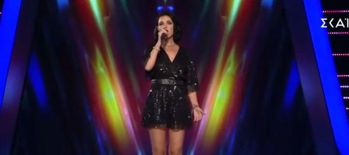 """Artistija ukrainase mahnit jurinë e """"The Voice of Greece"""" me këngën shqiptare """"Lule Lule"""" (VIDEO)"""