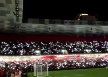 """Magjepsëse, pamjet emocionuese nga """"Air Albania"""", Spektakël që të rrënqeth (VIDEO)"""