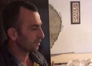 """""""Fëmijët i nxora nga dritarja"""" Shqiptari nuk e braktis banesën e shkatërruar: Dua vetëm një çadër (VIDEO)"""