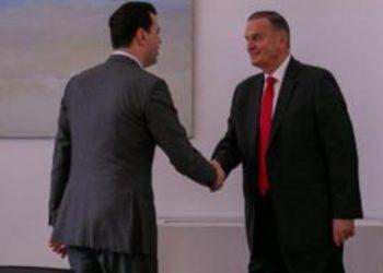 Zbardhen detajet e takimit mes Lulzim Bashës me ish-Komandantin e NATO-s në selinë blu, dy çështjet e nxehta që diskutuan