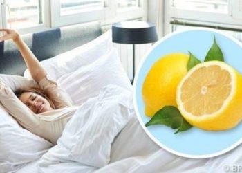 Çka ndodh nëse e vendosni një copë limoni afër shtratit të gjumit