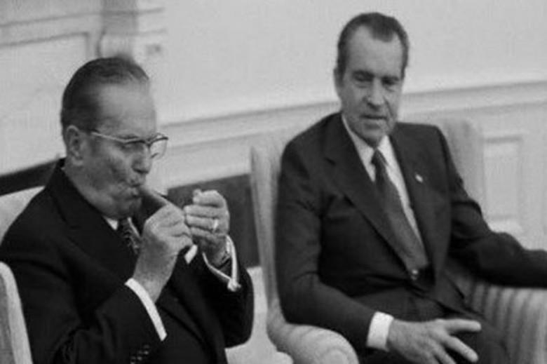 Përgjigja epike që i dha Tito presidentit amerikan, kur i tha se duhani është i ndaluar në Shtëpinë e Bardhë