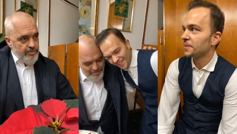 """""""O figurë, hajde hajde ulu""""! Kërkon kafe në lokal, Rama ndeshet me kamarierin shqiptar në Itali (VIDEO)"""