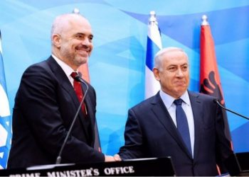 """""""Faleminderit miku im"""", Netanyahu surprizon me gjestin që bën për kryeministrin Rama: Jemi pranë Shqipërisë në këtë orë të vështirë (FOTO)"""