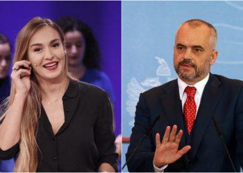 """""""Burg për këtë gazetarin, po përhap panik"""", moderatorja e 'Top Channel' ironizon kryeministrin Rama"""