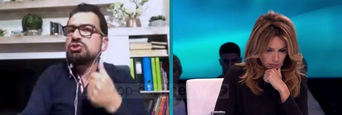 Kreshnik Spahiu bën paralajmërimin e frikshëm, Eni Vasili ndërhyn urgjent: Ndalo, mos hap panik ose do të heq mikrofonin
