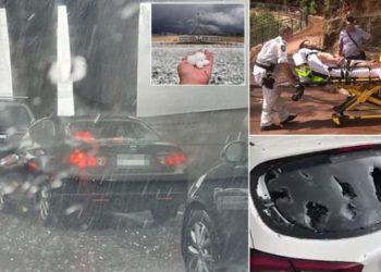 Pas zjarreve dhe shiut, breshër sa një top tenisi në Australi, dëmtohen mijëra vetura dhe ndërtesa