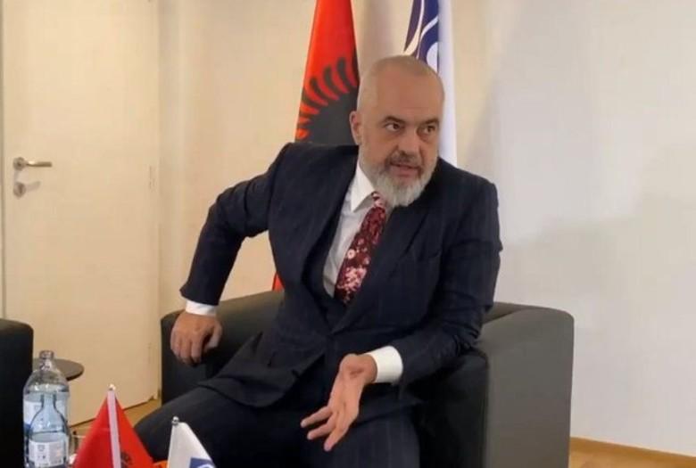 Muxhahedinët në Shqipëri, Rama tregon nga Vjena arsyen pse u pranuan në Shqipëri